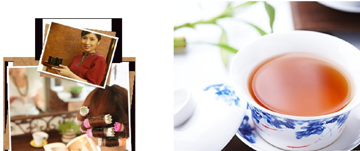 プーアル茶イメージ
